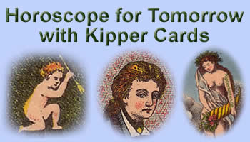Free Horoscope for tomorrow antique Kipper cards