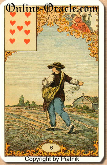 Gifts and conciliation Destin Antique Fortune telling cards cartomancy