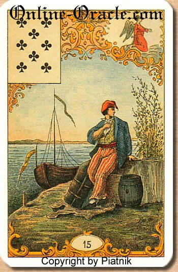 A good conclusion Destin Antique fortune telling cards with divination and cartomancy