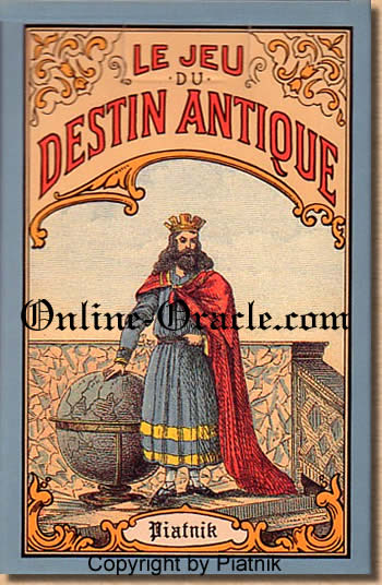 Destin Antique ancient Fortune Telling Cards, divination